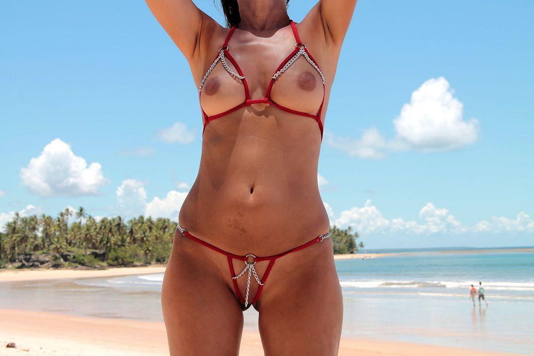 Bikini contest see thru